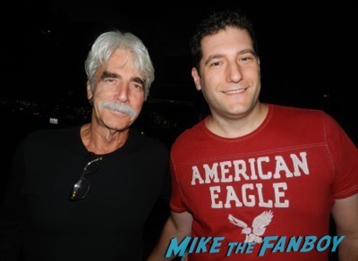 Sam Elliott fan photo selfie tombstone star