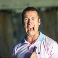 """SCREAM QUEENS: Glen Powell as Chad in the """"Haunted House"""" episode of SCREAM QUEENS airing Tuesday, Oct. 6 (9:00-10:00 PM ET/PT) on FOX. ©2015 Fox Broadcasting Co. Cr: Skip Bolen/FOX."""
