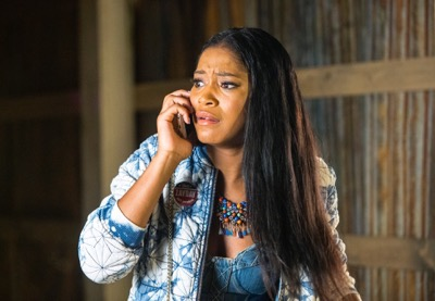 "SCREAM QUEENS: Keke Palmer as Zayday in the ""Haunted House"" episode of SCREAM QUEENS airing Tuesday, Oct. 6 (9:00-10:00 PM ET/PT) on FOX. ©2015 Fox Broadcasting Co. Cr: Skip Bolen/FOX."