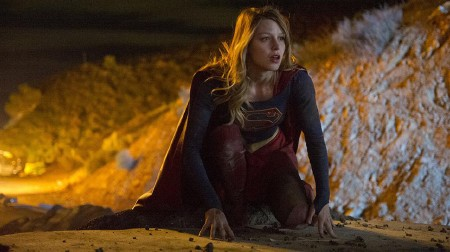 Supergirl flames