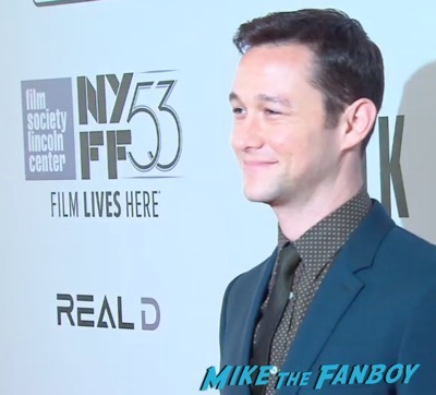 The Walk NYFF Premiere Josheph Gordon LEvitt 1