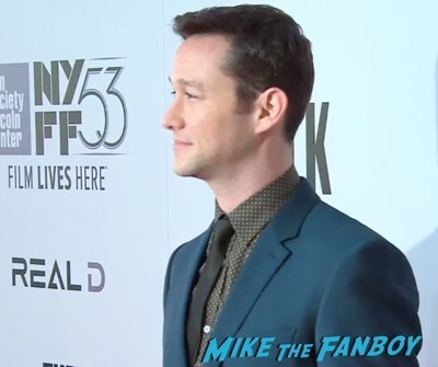 The Walk NYFF Premiere Josheph Gordon LEvitt 13