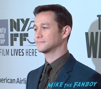 The Walk NYFF Premiere Josheph Gordon LEvitt 6