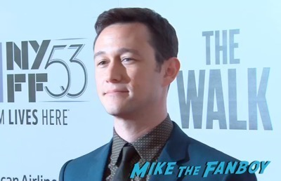 The Walk NYFF Premiere Josheph Gordon LEvitt 9