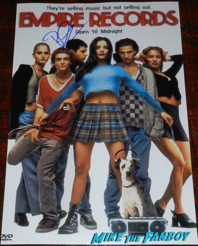 Rory Cochrane signed autograph empire records poster