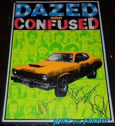 Rory Cochrane signed autograph dazed and confused mini poster