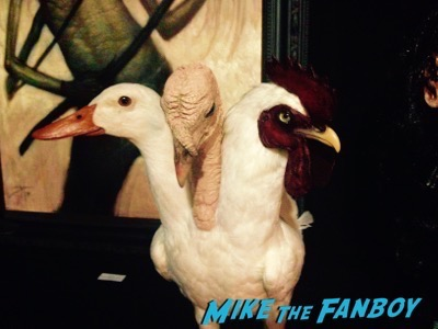Turducken son of monsterpalooza prop display