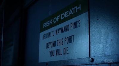 wayward pines dvd still rare matt dillon 15