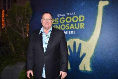 HOLLYWOOD, CA - NOVEMBER 17:  Executive Producer John Lasseter attends the World Premiere Of Disney-Pixar's THE GOOD DINOSAUR at the El Capitan Theatre on November 17, 2015 in Hollywood, California.  (Photo by Alberto E. Rodriguez/Getty Images for Disney) *** Local Caption *** John Lasseter