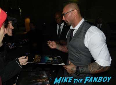 Dave Bautista signing autographs jimmy kimmel live 2015 5