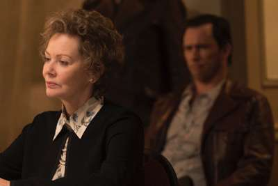 "FARGO -- ""Fear and Trembling"" -- Episode 204 (Airs November 2, 10:00 pm e/p) Pictured: Jean Smart as Floyd Gerhardt. CR: Chris Large/FX"