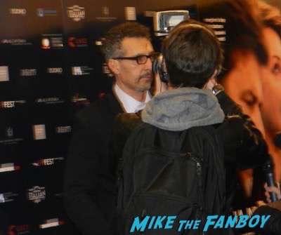 John Turturro My Mother premiere signing autographs 1
