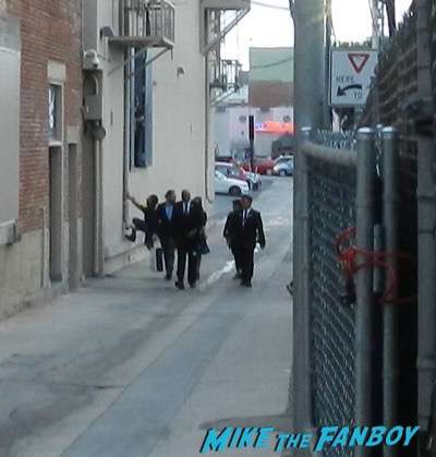 Mark Ruffalo signing autographs jimmy kimmel live 2015 7