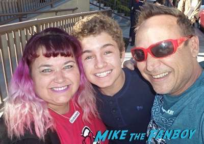 Sean Giambrone  Meeting the cast of the goldbergs selfie 2Sean Giambrone  Meeting the cast of the goldbergs selfie 2