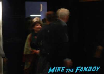 Michael Caine Harvey Keitel sag q and a signing autographs madness  5