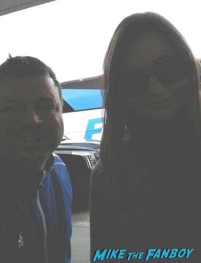 Miranda Kerr Photo Flop signing autographs for fans 1