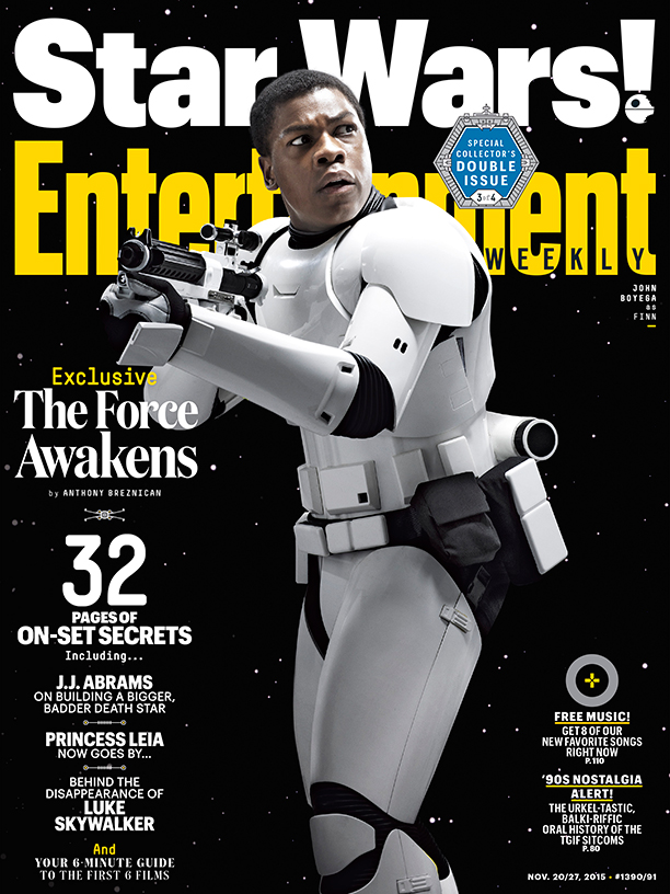 entertainment weekly star wars force awakens cover
