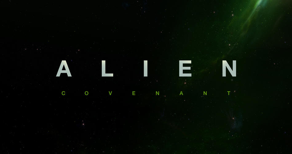 Alien Covenant title poster