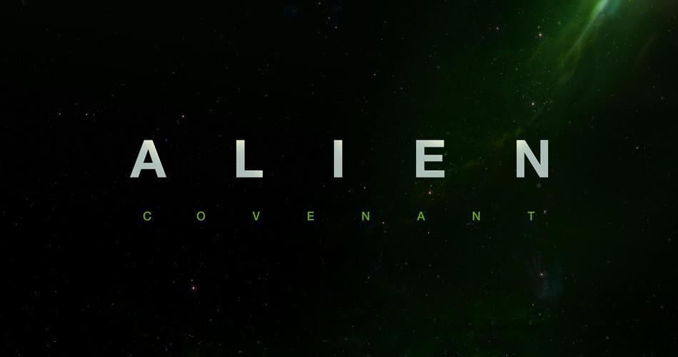 Alien Covenant title poster