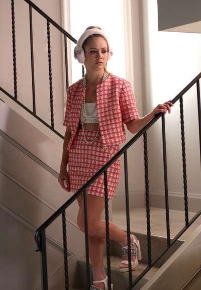 "SCREAM QUEENS: Billie Lourd in the ""Mommie Dearest"" episode of SCREAM QUEENS airing Tuesday, Nov. 10 (9:00-10:00 PM ET/PT) on FOX. ©2015 Fox Broadcasting Co. Cr: Patti Perret/FOX."