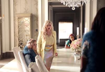 "SCREAM QUEENS: L-R: Billie Lourd, Abigail Breslin, Keke Palmer and Niecy Nash in the ""Mommie Dearest"" episode of SCREAM QUEENS airing Tuesday, Nov. 10 (9:00-10:00 PM ET/PT) on FOX. ©2015 Fox Broadcasting Co. Cr: Patti Perret/FOX."