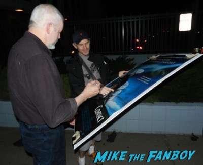 David Morse signing autographs concussion q and a 1