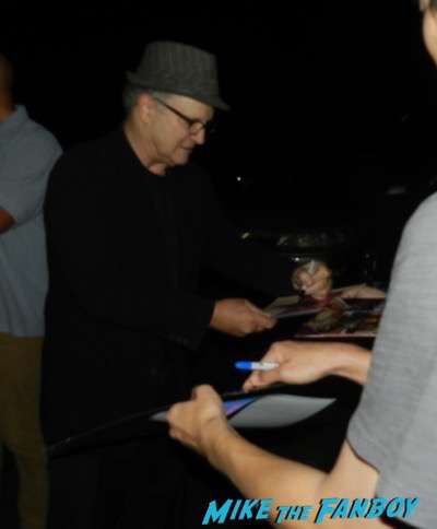 Albert Brooks signing autographs concussion q and a 3