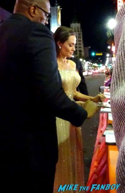 by the sea premiere angelina jolie brad pitt signing autographs 18