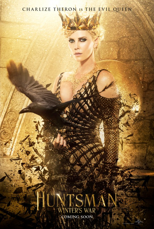 the huntsman Charlize Theron character poster
