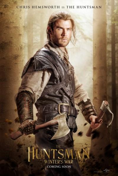 the huntsman chris hemsworth character poster