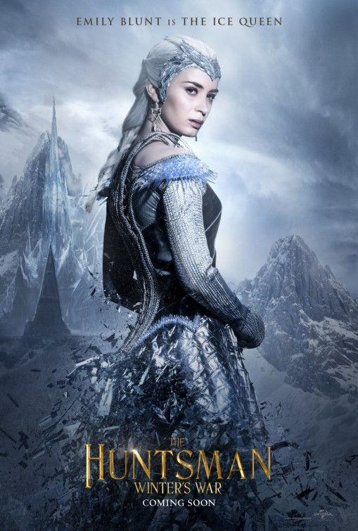the huntsman Emily Blunt character poster