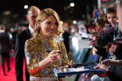 October 26, 2015 - London, England: Léa Seydoux attends the Royal World Premiere of SPECTRE at Royal Albert Hall.