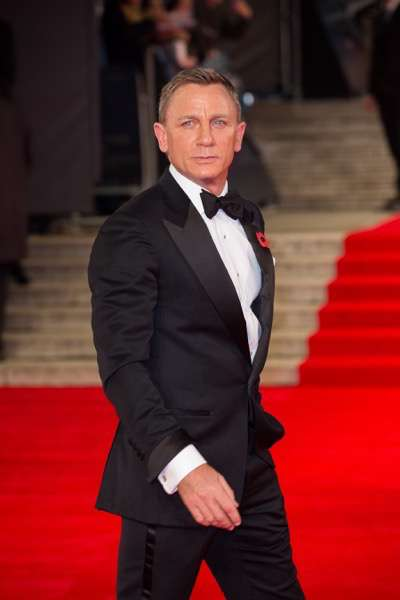 October 26, 2015 - London, England: Daniel Craig attends the Royal World Premiere of SPECTRE at Royal Albert Hall.