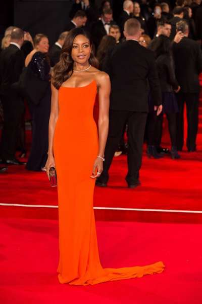 October 26, 2015 - London, England: Naomie Harris attends the Royal World Premiere of SPECTRE at Royal Albert Hall.
