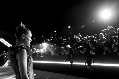 HOLLYWOOD, CA - DECEMBER 14: (EDITORS NOTE: Image has been shot in black and white. Color version not available.) Actress Cody Horn attends the World Premiere of ?Star Wars: The Force Awakens? at the Dolby, El Capitan, and TCL Theatres on December 14, 2015 in Hollywood, California.  (Photo by Charley Gallay/Getty Images for Disney) *** Local Caption *** Cody Horn