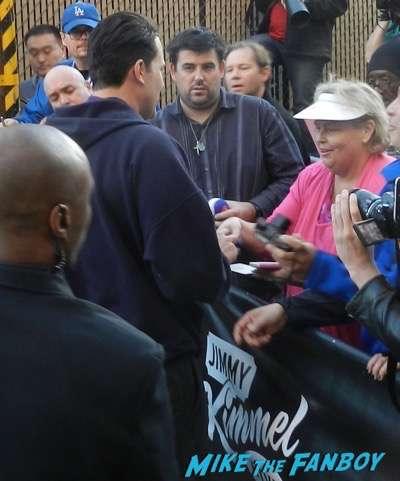 Ben Affleck signing autographs jimmy kimmel live 2015 13