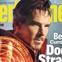Benedict Cumberbatch entertainment weekly cover dr strange 2