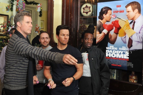 Will Ferrell and Mark Wahlberg Daddy's Home Dublin premier (Photo by Clodagh Kilcoyne /Getty Images for Paramount Pictures)