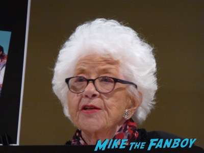 Charlotte Rae book signing autograph the facts of my life 1