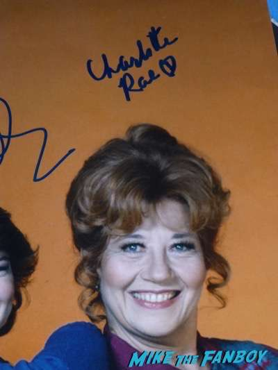 Charlotte Rae signed autograph facts of life cast photo mindy cohen Nancy McKeon