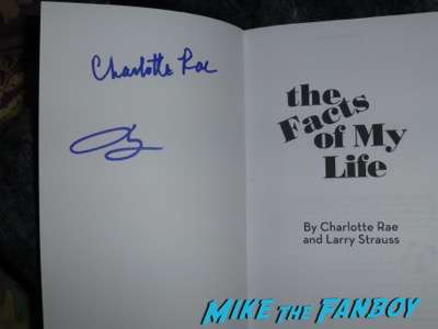 Charlotte Rae signed autograph the facts of my life book