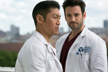 Chicago Med Colin and Brian