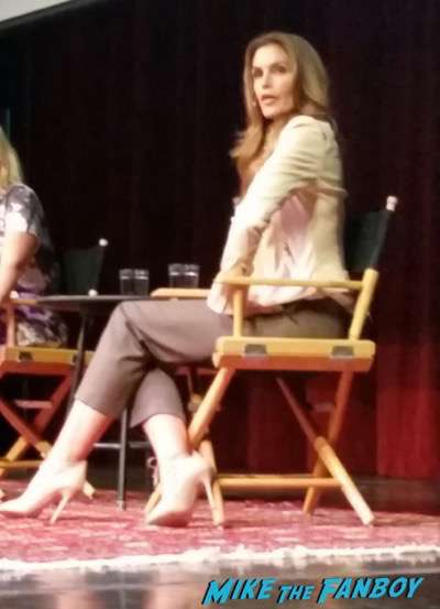 Cindy Crawford LA Live Talks 2015 book signing 3
