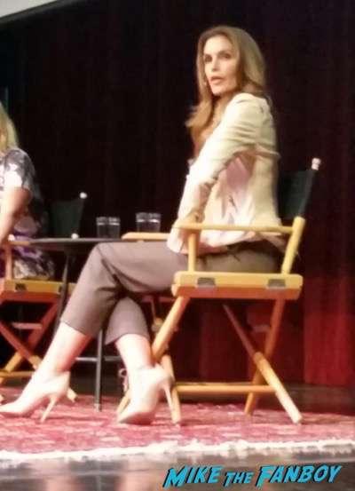 Cindy Crawford LA Live Talks 2015 book signing 3