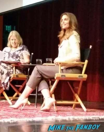 Cindy Crawford LA Live Talks 2015 book signing 3Cindy Crawford LA Live Talks 2015 book signing 3