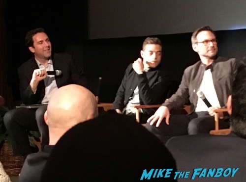 Mr Robot FYC Q and A Rami Malek signing autographs 18