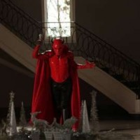 "SCREAM QUEENS: The Red Devil in the first part of the two-hour ""Dorkus"" and ""The Final Girls"" season finale episodes of SCREAM QUEENS airing Tuesday, Dec. 8 (8:00-10:00 PM ET/PT) on FOX. ©2015 Fox Broadcasting Co. CR: Patti Perret/FOX"