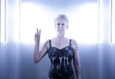 "SCREAM QUEENS: Jamie Lee Curtis in the ""Black Friday"" episode of SCREAM QUEENS airing Tuesday, Dec. 1 (9:00-10:00 PM ET/PT) on FOX. ©2015 Fox Broadcasting Co. Cr: Patti Perret/FOX."