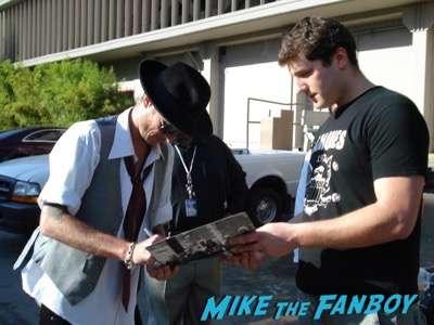 Scott Weiland fan photo signing autographs 2007 1