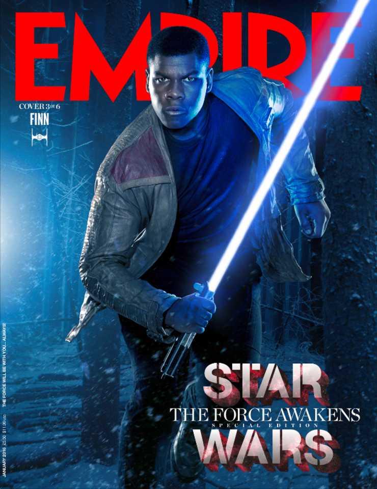 star wars the force awakens John Boyega Finn lenticular cover EMP_JAN16Cover_1_Rey